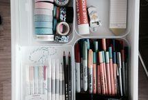 organised study space