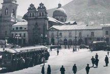 Antigua plaza bolivar / evolución plaza de Bolivar