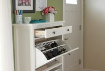 Storage ideas / by Melissa Wisen