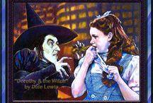 Dark Wizard of Oz Art