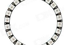 LED Ring. Светодиодные кольца. / Светодиодные сборки. #кольцо.
