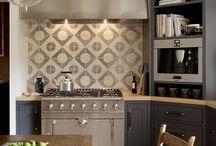 Plaatimislahendused kööki {Tiling inspiration for kitchen)