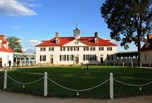 Mount Vernon, Virginia / Mount Vernon House and gardens / by Carolyn Wagenseller