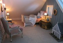 Dollshouse sleepingrooms 1/12