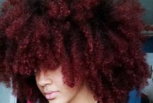 Natural, and afro hair. Love it