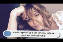 Andrea Legarreta ya ni tan enferma, ¡volvió a publicar fotos en la cama!