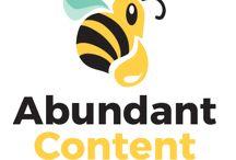 Abundant Content / from the Abundant Content blog