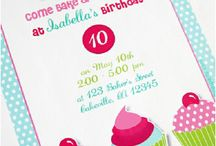Baking party + Pizza Party + Picnic party / Baking party + Pizza Party printables and invitation