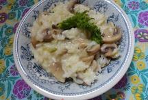 Risottos / http://tertuliadasusy.blogspot.pt/p/receitas.html