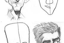 Caricature Studies/Tutorials
