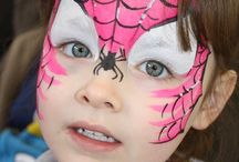 Face painting - super heros