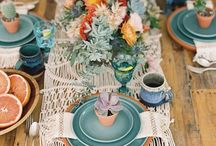 BOHO WEDDING // DECOR