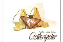 leather amulets / Lederamulette * Leather meets MaGic *