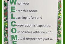 Back to School Bulletin Boards / by Charity Preston - Organized Classroom