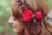 headpieces / wedding hair stalyes and flower crowns