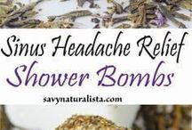 Sinus shower boms