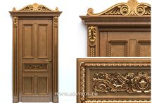 "DOORS / ДВЕРИ / Сarved doors made of wood from the company ""Stavros"". Резные двери от компании ""Ставрос""."