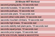 exercises / by Alyson Neff
