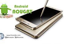 Forulike هواتف Galaxy S6 والنوت Note 5 سيصل إليها تحديث أندرويد 7.0 نوجا خلال الشهر الحالي