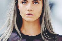 Team dark brows - light blonde hair