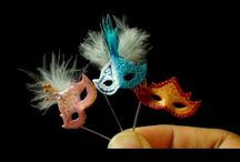 maskers en carnaval