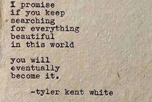 tyler kent white poetry