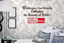 Different Types of Wallpaper / If you have decided to put the home decor wall paper in your room instead of the wall paints then you must also be wondering which material is the best. Here is some insight into different types of wallpaper materials