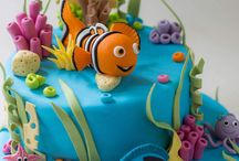 Finding Nemo / Under the sea cakes / pâte à sucre - fondant