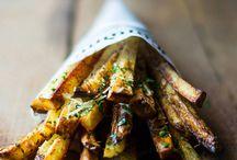 Oven Fries für Food Portfolio