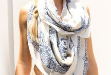 Scarves / To feed my obsession with scarves even further.