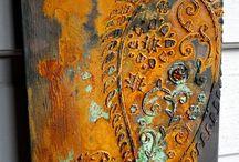 Modern masters metallic paint / Paint