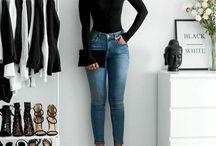 high waisted skinnies