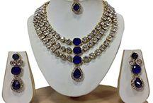 Dazzling Bollywood Designer Traditional Kundan Jewelry