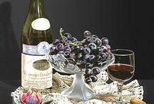 Pierre Barraya / Фрукты и ягоды, чай и вино