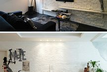 Painted Brick Interior