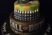 Call of Duty cakes, cupcakes and cookies..
