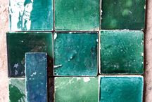 Moroccan tiles & further afield / Inspiration for the tiles at L'Amandier Hotel