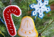 SweetChristmas-Ornaments / by Dee Benden