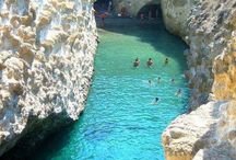 Papafragas Beach in Milos island, Greece