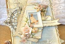 Shabby Chic cards / Shabby Chic cards