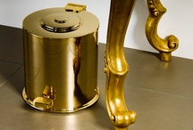 Gorgeous Gold finishes / Finishes of products made in Gold material 24kilates
