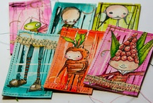 ATCs and Miniature Art / ATCs, altered playing cards, inchies, twinchies and all things miniature