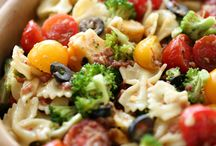 RECIPES:  Salads / Salad recipes and salad dressings, fruit and/or veggie