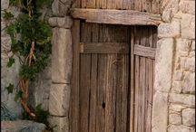 Puertas, ventanas, paredes