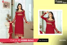 Fantastic Georgette Suits / #Enasasta Today's Bumper #Deal get 60% discount on #Fantastic #Georgette #Suit for just Rs 1399/-only You cannot afford to miss this!! You have only 14hours left to grab this deal. Shop now @ http://enasasta.com/ Cash on Delivery  at Rs 99 extra|| Shipping Free To Order, Call or Whatsapp @08288886065