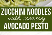 Zucchini noodles recipes