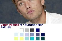 Color Analysis ♛ Summer Men / Find your best colors and style with seasonal color analysis. Here you'll find everything to help understand your best colors and style. Hope you enjoy and feel free to ask me: amandaarchetti@yahoo.it