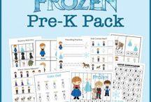 Frozen & education / by Danielle Bolme