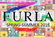 Furla Spring Summer 2016 / Furla is one of the most long-lived and successful Italian family firms. Business is owned by the family Furlanetto (hence the name).