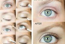 make up of eyes